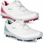 Ecco Womens 2018 Golf Biom G2 BOA Lace-System Spiked Hydromax Leather Shoes