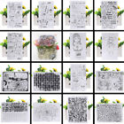 Transparent Silicone Clear Rubber Stamp Cling Diary Scrapbooking Card DIY Decor