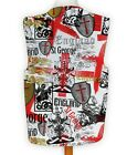Funny Novelty Waistcoat England Rose St George Fun Fancy Dress Gift Idea Party
