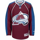 NHL Colorado Avalanche Premier Reebok Burgundy Hockey Jersey $39.41 CAD on eBay