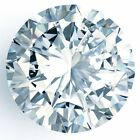 Huge 1.76 ct 7.95 mm SI1 Fancy Blue Round Brilliant Cut Loose Moissanite 01