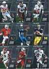 2016 Panini Prizm Collegiate Draft Picks Base Football Cards - Complete Your Set