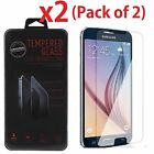 Premium Gorilla Tempered Glass Screen Protector Film for Samsung Galaxy S6 S5 S4