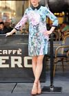 Ted Baker Glitch Floral Jewel Collar Shift Cocktail Tunic Party Dress 1 8 36 New