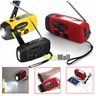 1000mAh Emergency LED Radio Solar Hand Crank AM/FM/NOAA Flashlight Phone Charger