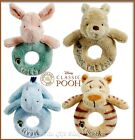 CLASSIC WINNIE THE POOH RING RATTLE OFFICIAL DISNEY - EEYORE TIGGER OR PIGLET
