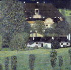 "GUSTAV KLIMT ""Schloss Kammer Am Attersee II"" ON CANVAS OR PAPER various SIZES"