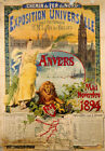 "GUSTAVE FRAIPONT ""Exposition Universalle, Anvers"" PRINT various SIZES, BRAND NEW"