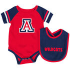 Arizona Wildcats Colosseum Roll-Out Infant One Piece Outfit and Bib Set