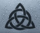 Celtic 'Trinity' knot - vinyl car bike window decal sticker #2 - Larger sizes
