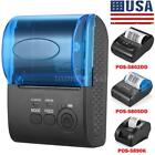 58mm BT Wireless Direct Thermal Receipt Printer Retail Print for iOS Android Win