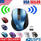 Wireless Gaming Mouse 2.4GHZ with USB Nano Receiver for Windows Mac Linux USA
