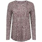 Ladies Famous Brand Animal Pattern Long Sleeve T-Shirt/Top-Next Day Despatch M&S