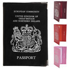 Genuine Leather Passport Cover for British - UK Passport