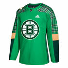 adidas Boston Bruins Green St. Patrick's Day Authentic Practice Jersey - NHL
