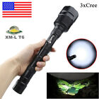 80000LM Tactical 7x Lamp T6 LED Flashlight Torch Lamp 18650 5Modes Police Light!
