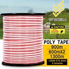 Multi Polytape Roll Electric Fence Energiser Stainless Steel Poly Tape Insulator