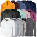 Calvin Klein Golf Mens 2020 Harlem 1/4 Zip Technical CK Sweater 26% OFF RRP