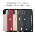 Luxury Hand Strap Wallet PU Leather/Soft TPU Back Case Cover For Apple/Samsung