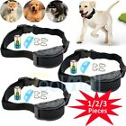 training collars for large dogs - 3X Anti Bark No Barking Training Collar Shock Control For Small Medium Large Dog