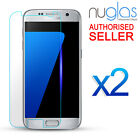 2x GENUINE NUGLAS Samsung Galaxy S7 6 5 Note 5 4 Tempered Glass Screen Protector