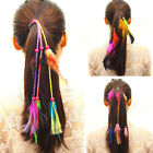 Girl Festival Feather Hippie Headpiece Tassel Hair Comb Clip