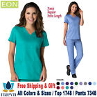 Maevn Scrubs Set EON Women's Back Mesh Panel Top  Cargo Pants 1748/7348 RP