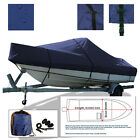 Chaparral+SSi+235+Cuddy+Cabin+Cruiser+Trailerable+Boat+Storage+Cover+Navy
