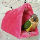 Warm Plush Snuggle Hanging Cave Parrot Swing Toy Cage Hammock Pet Bird Bunk Bed