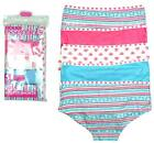 Girls 5 Pack Pastel Colours Cotton Hipster Briefs Knickers Underwear 5 to 13 Yrs