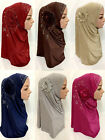 Muslim Hijabs New Headscarves Wrapped Soft Skull Scarf Under Cover Ramadan