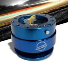 NRG Blue GEN 2.0 Race Steering Wheel Quick Release Adapter 6-Hole Design
