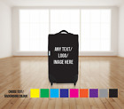Custom Caseskinz Suitcase Cover Your Logo Text Image Airport Holiday Luggage