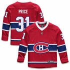Fanatics Branded Carey Price Montreal Canadiens Youth Red Replica Player Jersey