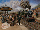 CITY OF TRURO VINTAGE TRAIN STATION SCENE   METAL SIGN: SIZES TO CHOOSE FROM