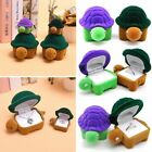 Cartoon Tortoise Jewelry Box Organizer Ring Earring Necklace Gift