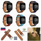 Genuine Leather Replacement Bracele Wrist Watch Band for Fitbit Versa Watch