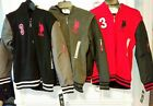 U.S. Polo Assn. Boys Sherpa Lined Fleece Hoodie, Diff Sizes & Colors - New w/tag