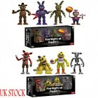 4 Pcs Set Funko Five Nights at Freddy's Action Figure Toys Freddy Bonnie Friends