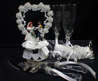 $99 SPECIAL Disney Little MERMAID Wedding LOT Cake Topper Glasses, knife, server