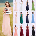 Ever-Pretty US Long Evening Prom Gown Sleeveless Bead Bridesmaid Dresses 08742