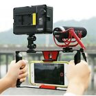 "Portable Camera Cage Stabilizer Film Video Making Rig for 4~7"" Cell Phone"