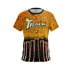 Track Mens Dye Sub Beer CoolWick Performance Crew Bowling Shirt