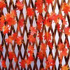 2.4M Simulation Artificial Fake Flower Maple Leaf Rattan Flower Winding Decor