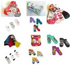 Junior's 3-Pairs No-Show Socks Transformers Betty Boop Belle Ariel Rugrats  NWT $11.04 USD on eBay