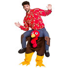 Shoulder Carry Me Ride On Piggy Back Fancy Dress Costume Outfit Mens Ladies New