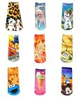 Girl's Character Socks (Size 13-9) Minions Frozen Bambi Mickey Mouse NWT $8.95 USD on eBay