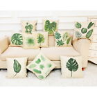 Home Cushion Cover Big Leaf Tropical Plants Throw Pillowcase Pillow Covers Decor