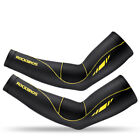 RockBros Cycling Summer Ice Silk Arm Cover Sun Protection Oversleeve 1 Pair