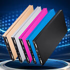 Portable 100000mAh Power Bank External Dual USB Battery Charger  for Cell Phone